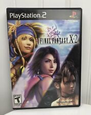 Final Fantasy X-2 Playstation 2 Video Game Game Case Manual