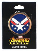 Disney Studio Store Hollywood Avengers Infinity War War Machine Limited Ed Pin