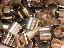 Lot de 50 clips 30 mm pour fixation de film bâche sur tubes de serre de jardin