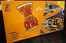 TIME CAPSULE board game Reading Comprehension 2004 sci-fi Time Travel red level