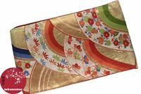 KIMONO YUKATA OBI JAPANESE GENUINE CEINTURE JAPONAISE JAPANSKA MADE IN JAPAN