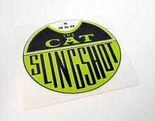 HPE CAT SLINGSHOT Mini Bike Clutch Cover DECAL | Vinyl Minibike STICKER