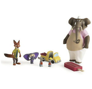 Disney Zootopia Operation Red Wood Figures New