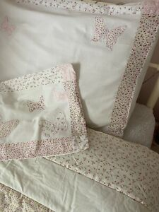 Laura Ashley Bella Butterfly Bed Cover Bedspread , Pillowcase And Cushion Cover