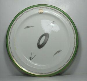 """Rare Crested Spode Copelands China Plate 12"""" Diameter,  c1922"""