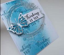 Butterfly Cutting Dies Metal Stencil DIY Scrapbook Embossing Paper Card Craft