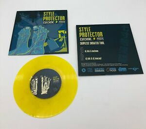 """DNA Records  Style Protector DJ DSK 7"""" Scratch Record Skipless Scratches"""