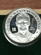 New listing Pavel Kubina- Tampa Bay Lightning Stanley Cup Silver Plated Collectible Coin