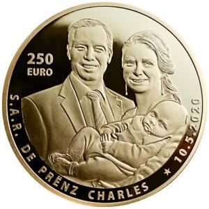 Luxemburg - 250 Euro 2020 - Geburt von Prinz Charles - 1 Oz Gold PP