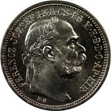 HUNGARY - KORONA - 1914 - UNC - SILVER - FRANZ JOSEPH I