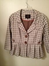 Tocca Jacket Size 2 Cotton New Without Tags