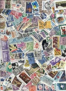 US Used Stamp Lot Off Paper Mixture 1 lb pound Kiloware - Too many to count!