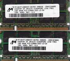 2GB (2x 1GB Kit) Xerox ColorQube 8570 and 8870 Series Printer DDR2 RAM Memory
