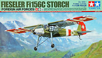 Tamiya 25158 Fieseler Fi156C Storch (Foreign Air Forces) 1/48 scale kit