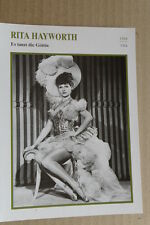 (S35) STARFILMKARTE - Rita Hayworth - Es tanzt die Göttin