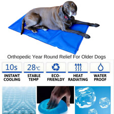 Pet Cool Mat Cat Dog Bed Non-Toxic Gel Cooling Dog Summer Pad Puppy AU FREE POST