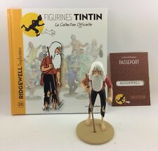 Collection officielle figurine Tintin Moulinsart 23 Ridgewell l'Explorateur