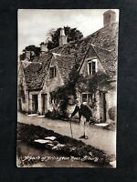 Vintage Postcard: #TP2266: Arlington Row, Bibury: Old Gent Cottages