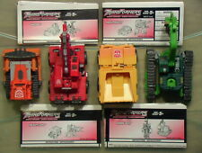 Transformers 2002 RID Landfill Set Incomplete w/Cards/Instructions C-6 Hasbro!!!