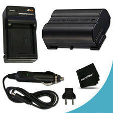 EN-EL15 ENEL15 Battery + Quick AC/DC Charger for Nikon DSLR Camera