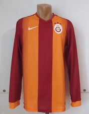 Galatasaray 2014/2015 Home Football Shirt Soccer Jersey Long Sleeve Turkey Nike