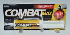NEW COMBAT MAX ROACH KILLING GEL SYRINGE KILLS THE NEST BAIT FAST 2.1 OZ 60G