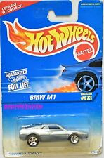 HOT WHEELS 1996 BMW M1 #473 BAD CARD W+