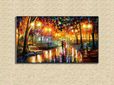 Modern Large Hand-painted Art Oil Painting Wall Decor Canvas LOVER(No Frame)