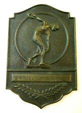 New ListingSir Noel Curtis-Bennett 1948 Olympic Medal Bronze Plaque London