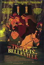 THE TRIPLETS OF BELLEVILLE Movie POSTER 27x40