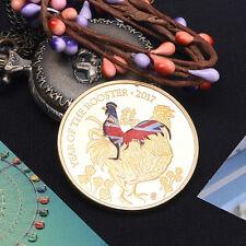 Jahr des Hahns - Lunar Jahr - Silber Farbe Year of the Rooster Gedenkmünzen·DRP