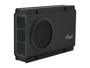 """Rosewill RX-358 V2 - Black, 3.5"""" SATA to USB & eSATA HDD Enclosure NEW SEALED"""
