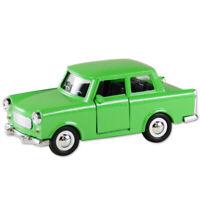 Trabi Trabant Limousine grün,Modellauto DDR Metall 12 cm,NEU !