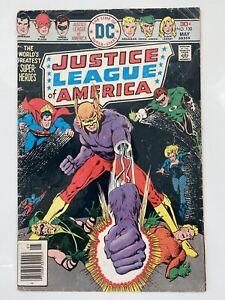 JUSTICE LEAGUE OF AMERICA #130 M (1978 DC Comics) 1st App of Dharlu