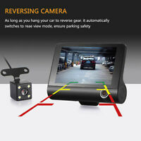 1080P Car DVR Dual Lens Dash Cam Front and Rear Video Recorder Camera G-sensor _