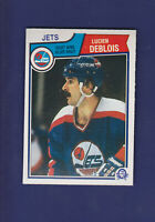 Lucien Deblois 1983-84 O-PEE-CHEE Hockey #383 (NM+) Winnipeg Jets