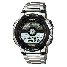 Casio AE-1100WD-1AV Stainless Steel Digital Sports Watch Retail Box Included