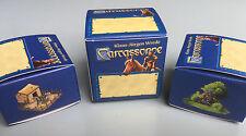 Carcassonne-Juego de 3 cajas de Mini en blanco, a estrenar