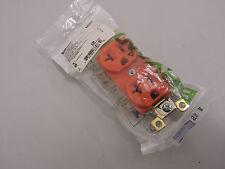 Bryant Hubbell 5-20 orange Receptacle Duplex Outlet 125V 5362IG