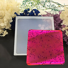 Large square Silicone Clear Mold Polymer Clay Resin Casting Craft Making Mould
