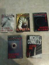 Michael Connelly -lotto 5 libri copertina rigida
