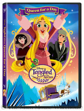 Disney Tangled the Animated Series Rapunzel Queen for a Day TV Show DVD Flynn