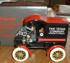 Texaco #4 '87 Ertl 1905 Ford Delivery Car Truck Bank
