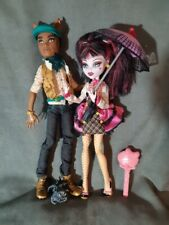 "MONSTER HIGH. Pack Muñecas DRACULAURA y CLAWD WOLF ""FORBITTEN ROMANCE"""