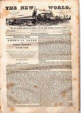 """""""American Notes for General Circulation"""", by Charles Dickens - 1842"""