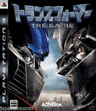 Used PS3  Transformers SONY PLAYSTATION 3 JAPAN JAPANESE IMPORT