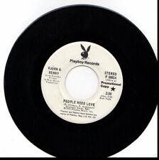 BJORN & BENNY PEOPLE NEED LOVE/MERRY GO ROUND 45RPM PROMO ABBA PLAYBOY RECORDS