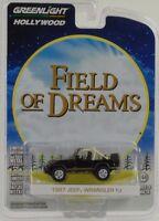 Movie Field of Dreams 1987 Jeep Wrangler YJ 1:64 Greenlight