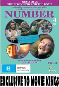 Number 96 - The Beginning And The Bomb Volume 3 DVD Brand New Sealed All Regions