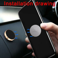 2pcs Metal Plate Sticker Replacement Fr Magnetic Car Mount Magnet Phone Holder